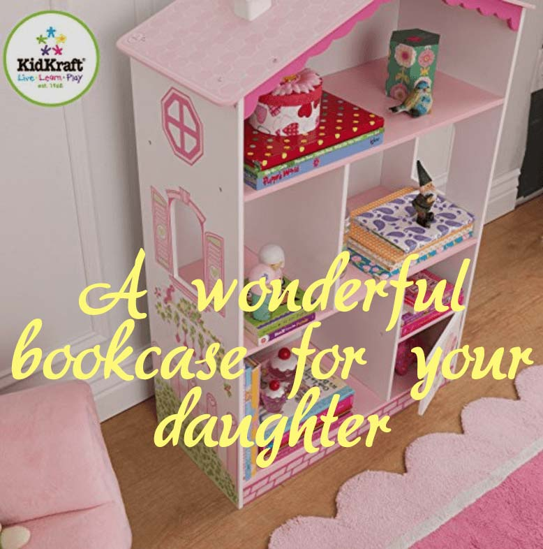 KidKraft Dollhouse Bookcase Review