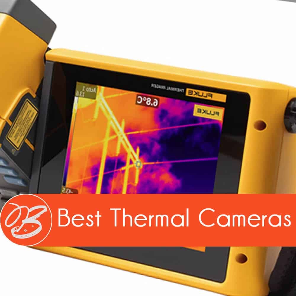 Thermal Camera on a woman's body