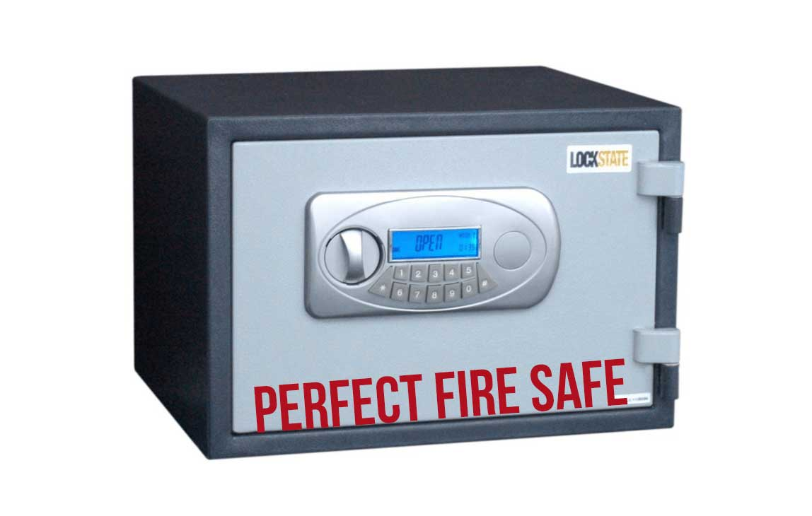 LockState LS-30D Digital Fireproof Safe