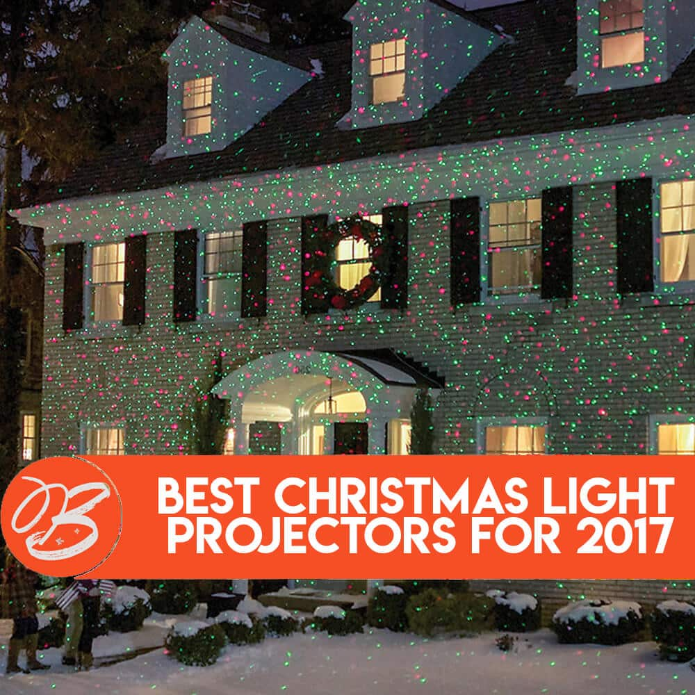 make christmas lights feel new decorate your house with christmas light projectors - Christmas Lights Projector On House